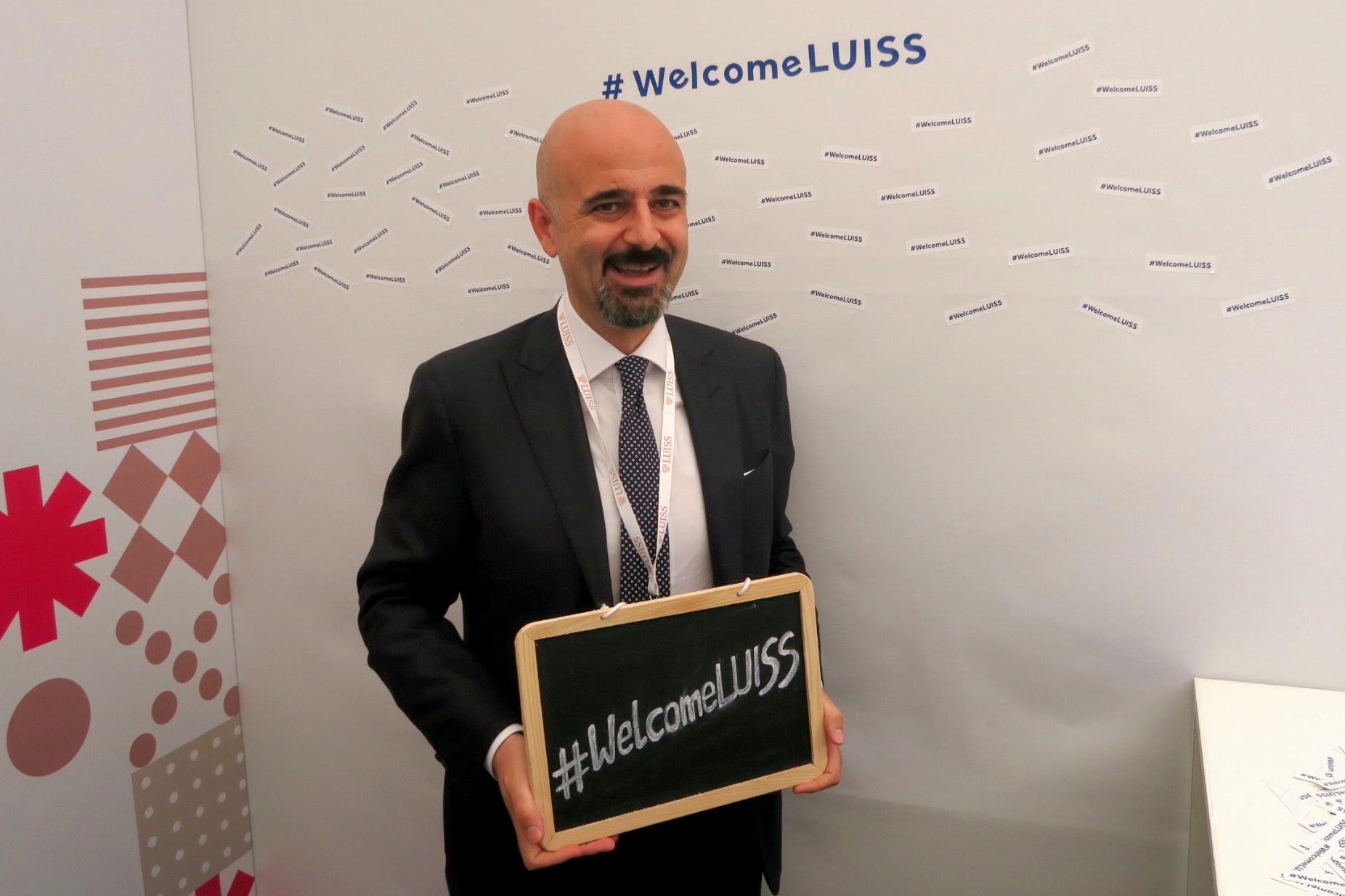 DG Welcome LUISS